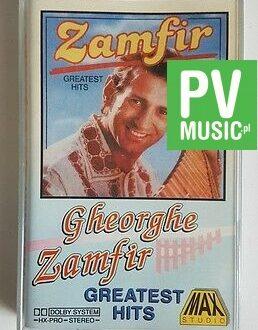 GHEORGHE ZAMFIR GREATEST HITS audio cassette