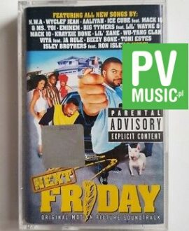 NEXT FRIDAY ORIGINAL MOTION PICTURE SOUNDTRACK audio cassette