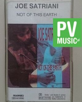 JOE SATRIANI  NOT OF THIS EARTH   audio cassette