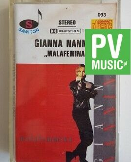 GIANA NANNINI MALAFEMMINA   audio cassette