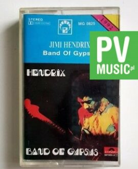 JIMI HENDRIX BAND OF GYPSYS audio cassette