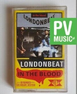 LONDONBEAT IN THE BLOOD audio cassette