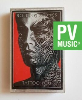 ROLLING STONES TATTOO YOU audio cassette