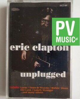 ERIC CLAPTON UNPLUGGED audio cassette