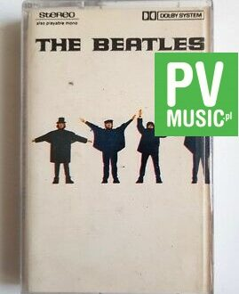 THE BEATLES HELP!  audio cassette
