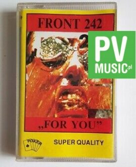 FRONT 242 FOR YOU audio cassette