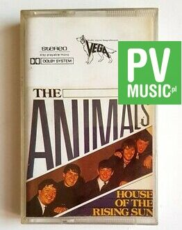 THE ANIMALS HOUSE OF THE RISING SUN audio cassette