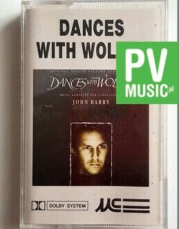 DANCES WITH WOLVES SOUNDTRACK audio cassette