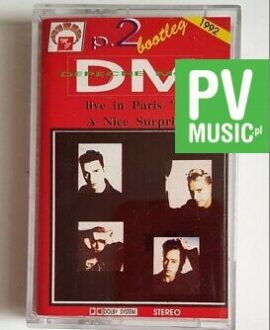 DEPECHE MODE LIVE IN PARIS '90 audio cassette