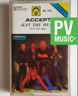 ACCEPT EAT THE HEAT  audio cassette