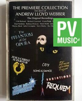 THE BEST OF ADREW LLOYD WEBBER REQUIEM, JESUS CHRIST SUPERSTAR.. audio cassette