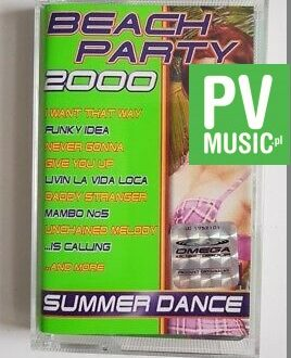 BEACH PARTY 2000 LIVIN LA VIDA LOCA.. audio cassette