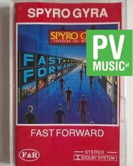 SPYRO GYRA FAST FORWARD audio cassette