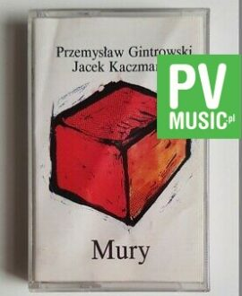 PRZEMYSŁAW GINTROWSKI MURY audio cassette