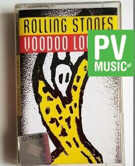 THE ROLLING STONES VOODOO LOUNGE audio cassette