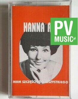 HALINA REK MAM SZCZĘŚCIE DO WSZYSTKIEGO audio cassette
