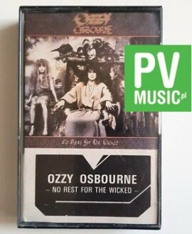 OZZY OSBOURNE NO REST FOR THE WICKED audio cassette
