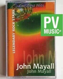 JOHN MAYALL GREATEST HITS audio cassette