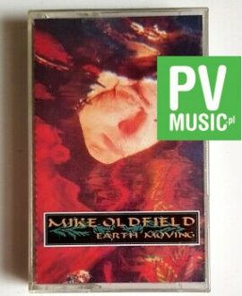 MIKE OLDFIELD EARTH MOVING audio cassette