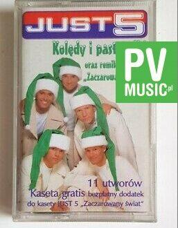 JUST 5 KOLĘDY I PASTORAŁKI audio cassette