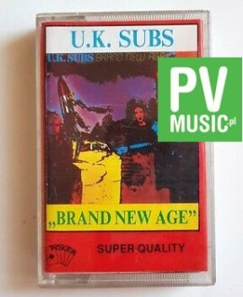 U.K. SUBS BRAND NEW AGE audio cassette