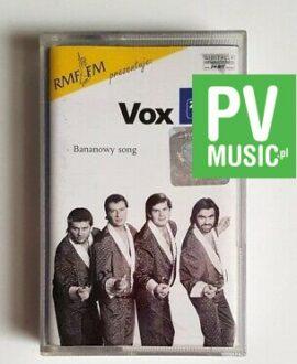 VOX BANANOWY SONG audio cassette