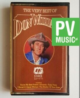 DON WILLIAMS THE VERY BEST OFaudio cassette