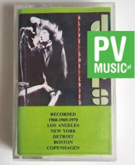THE DOORS ALIVE SHE CRIED audio cassette