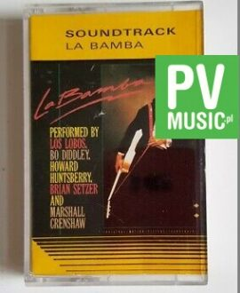 LA BAMBA SOUNDTRACK audio cassette