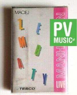 MACIEJ ZEMBATY MANHATTAN LIVE audio cassette