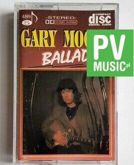 GARY MOORE BALLADS  audio cassette