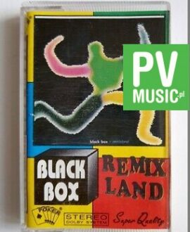 BLACK BOX REMIXLAND audio cassette