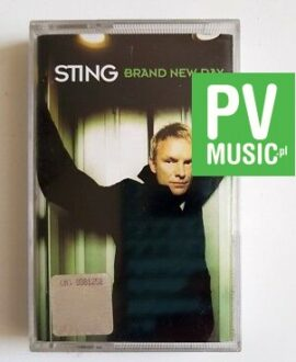 STING BRAND NEW DAY audio cassette