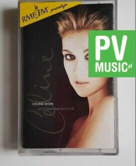 CELINE DION LET'S TALK ABOUT LOVE audio cassette