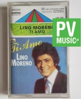 LINO MORENO TI AMO audio cassette