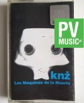 KNŻ LAS MAQUINAS DE LA MUERTE audio cassette