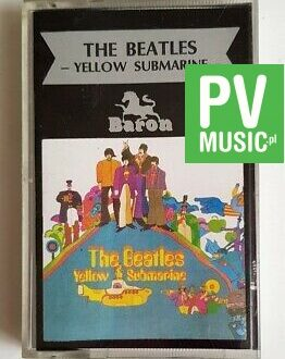 THE BEATLES YELLOW SUBMARINE audio cassette