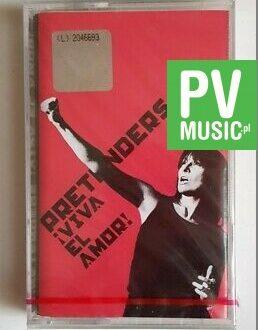 PRETENDERS VIVA EL AMOR! audio cassette