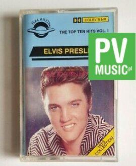 ELVIS PRESLEY THE TOP TEN HITS audio cassette