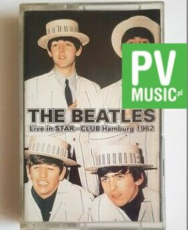 THE BEATLES LIVE IN STAR - CLUB HAMBURG 1962 audio cassette