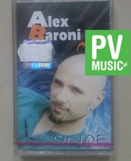 ALEX BARONI ONDE NEW - RARE  audio cassette