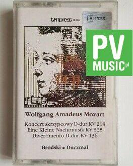 MOZART CONCERTS audio cassette