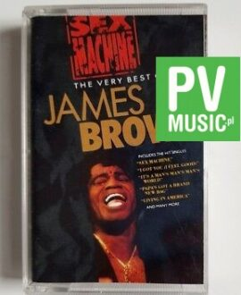 JAMES BROWN SEX MACHINE - THE VERY BEST OF audio cassette