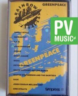 GREENPEACE.. DIRE STRAITS, BASIA, BRYAN ADAMS.. audio cassette