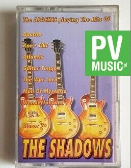 THE SHADOWS THE APACHES PLAYING HITS OF audio cassette