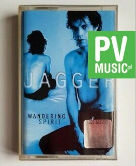 MICK JAGGER WANDERING SPIRIT audio cassette