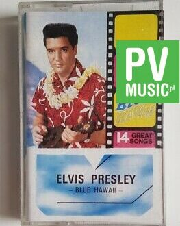 ELVIS PRESLEY BLUE HAWAII  audio cassette