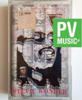 STEVIE WONDER CONVERSATION PEACE audio cassette