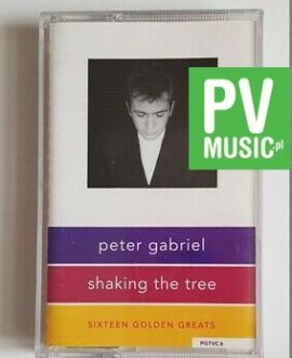 PETER GABRIEL SHAKING THE TREE audio cassette