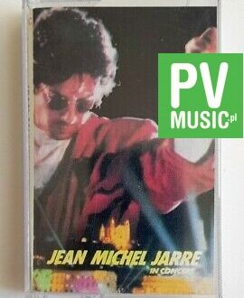 JEAN MICHEL JARRE IN CONCERT audio cassette